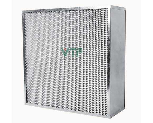 镀锌框铝隔板高效过滤器