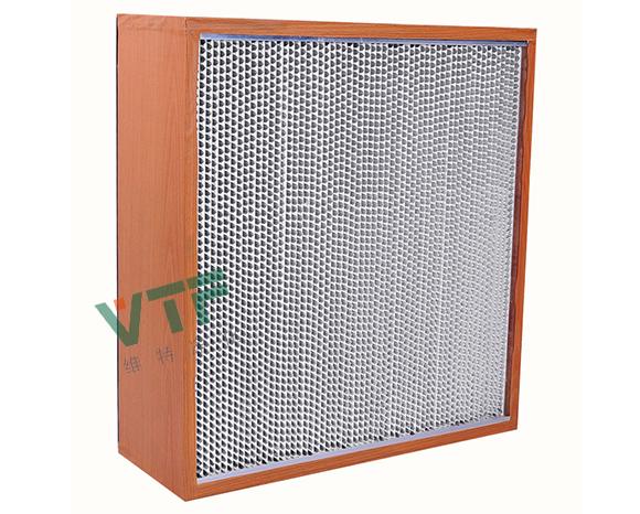 木框纸隔板高效过滤器