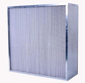 铝框铝隔板高效过滤器